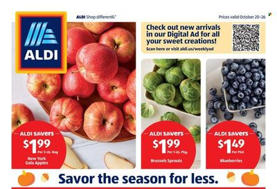 ALDI (MD, NC, VA) Weekly Ad Flyer October 25 to November 1