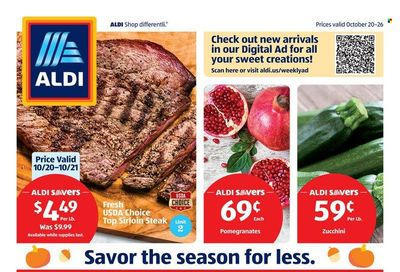 ALDI (CA) Weekly Ad Flyer October 25 to November 1