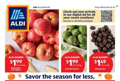 ALDI (GA) Weekly Ad Flyer October 25 to November 1