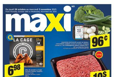 Maxi Flyer October 28 to November 3