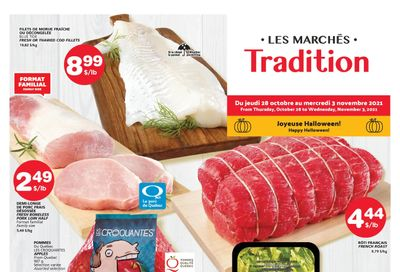Marche Tradition (QC) Flyer October 28 to November 3