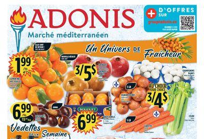 Marche Adonis (QC) Flyer October 28 to November 3