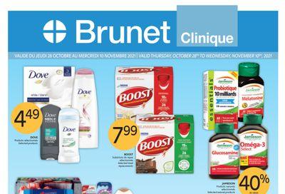 Brunet Clinique Flyer October 28 to November 3