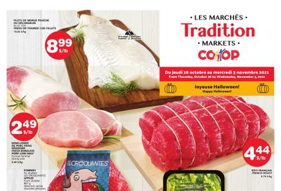 Marche Tradition (NB) Flyer October 28 to November 3