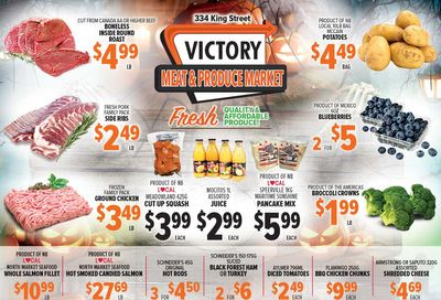 Victory Meat Market Flyer October 26 to 30