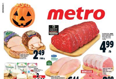 Metro (ON) Flyer October 28 to November 3