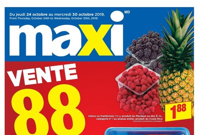 Maxi Flyer October 24 to 30