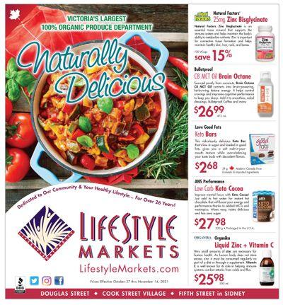Lifestyle Markets Flyer October 27 to November 14
