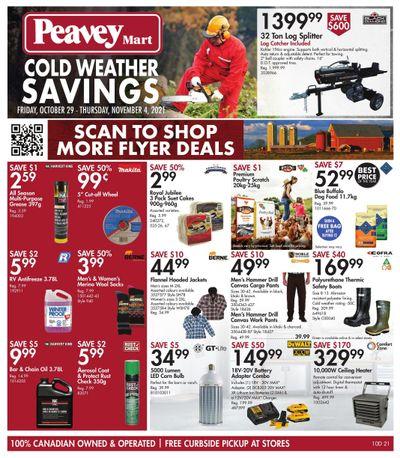 Peavey Mart Flyer October 29 to November 4