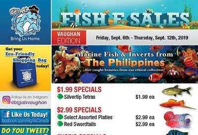 Big Al's (Vaughan) Weekly Specials September 6 to 12