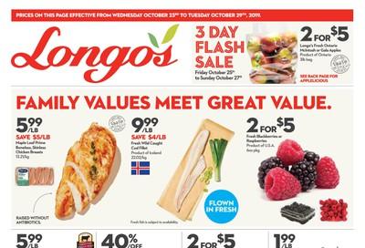 Longo's Flyer October 23 to 29