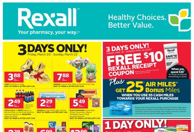 Rexall (West) Flyer March 20 to 26