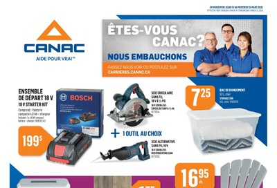 Canac Flyer March 19 to 25