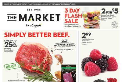 The Market by Longo's Flyer October 23 to 29