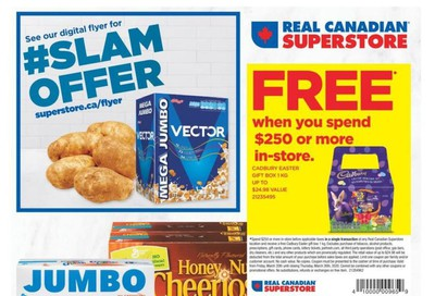 Real Canadian Superstore (West) Flyer March 20 to 26
