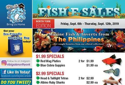Big Al's (North York) Weekly Specials September 6 to 12
