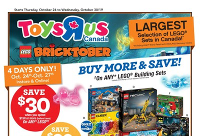 Toys R Us Flyer October 24 to 30