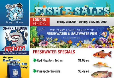 Big Al's (London) Weekend Specials September 6 to 8