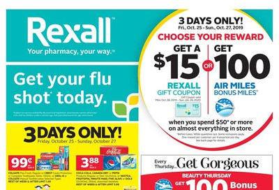 Rexall (ON) Flyer October 25 to 31