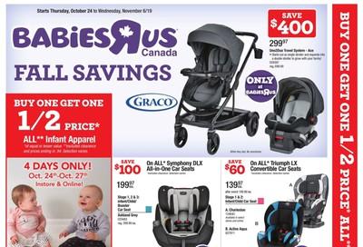 Babies R Us Flyer October 24 to November 6