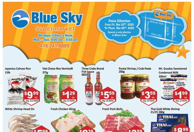 Blue Sky Supermarket (North York) Flyer March 20 to 26
