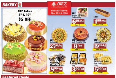 Arz Fine Foods Flyer March 20 to 26