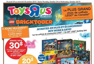 Toys R Us (QC) Flyer October 24 to 30