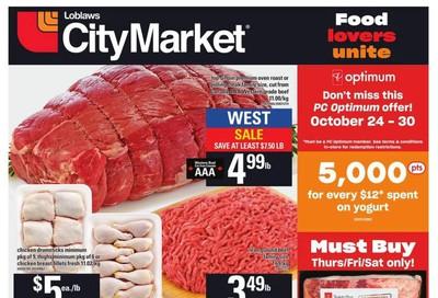 Loblaws City Market (West) Flyer October 24 to 30