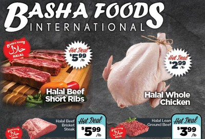 Basha Foods International Flyer March 24 to April 2