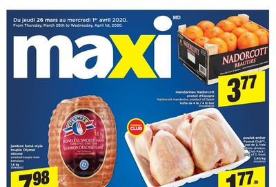 Maxi Flyer March 26 to April 1