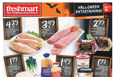 Freshmart (ON) Flyer October 24 to 30