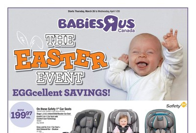 Babies R Us Flyer March 26 to April 1