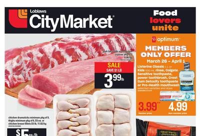 Loblaws City Market (West) Flyer March 26 to April 1