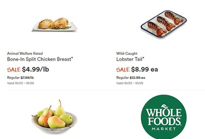 Whole Foods Market (West) Flyer October 23 to 29
