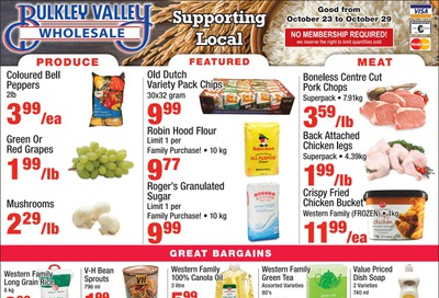 Bulkley Valley Wholesale Flyer October 23 to 29
