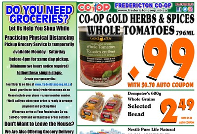 Fredericton Co-op Flyer March 26 to April 1