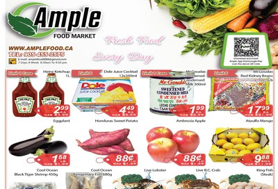 Ample Food Market Flyer March 27 to April 2