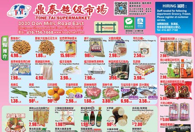 Tone Tai Supermarket Flyer March 27 to April 2