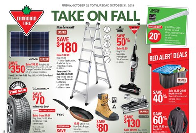Canadian Tire (Atlantic) Flyer October 25 to 31