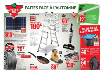 Canadian Tire (QC) Flyer October 24 to 30
