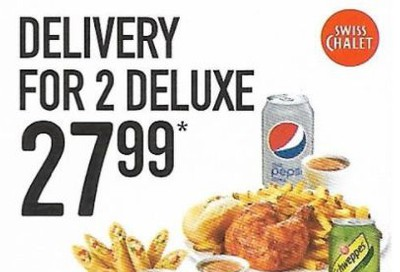 Swiss Chalet Canada Coupon: 2 Deluxe Delivery Meals For 27.99