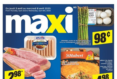 Maxi & Cie Flyer April 2 to 8