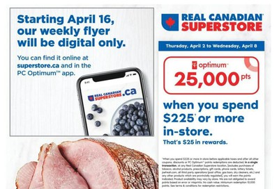 Real Canadian Superstore (ON) Flyer April 2 to 8