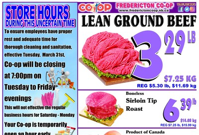 Fredericton Co-op Flyer April 2 to 8