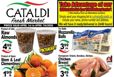 Cataldi Fresh Market Flyer April 1 to 7