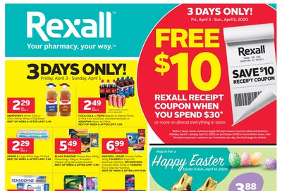 Rexall (West) Flyer April 3 to 9