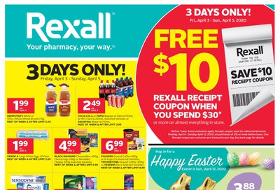 Rexall (ON) Flyer April 3 to 9