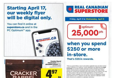 Real Canadian Superstore (West) Flyer April 3 to 8