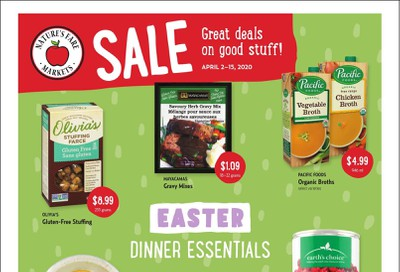 Nature's Fare Markets Flyer April 2 to 15