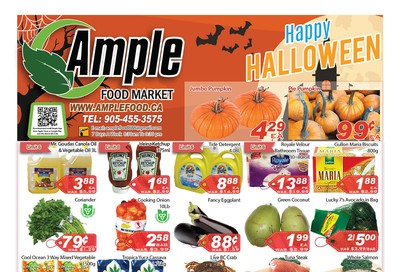 Ample Food Market Flyer October 25 to 31